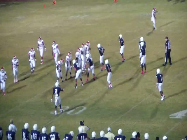 Paul W Bryant vs. Central High School - Zane Samuel highlights