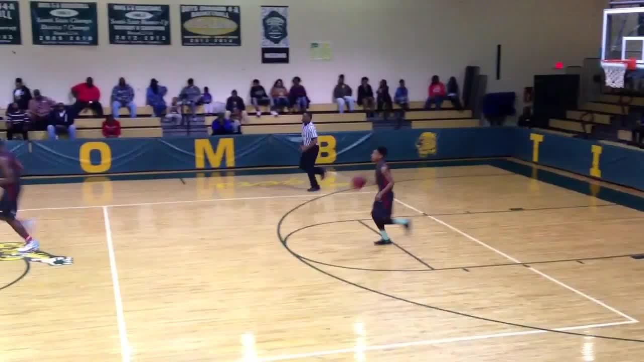 Mccomb High School Vs Magee Zarkeichious Martin Highlights
