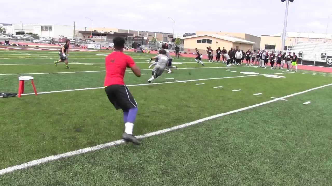 Nike football 2015 vs game footage erron duncan highlights