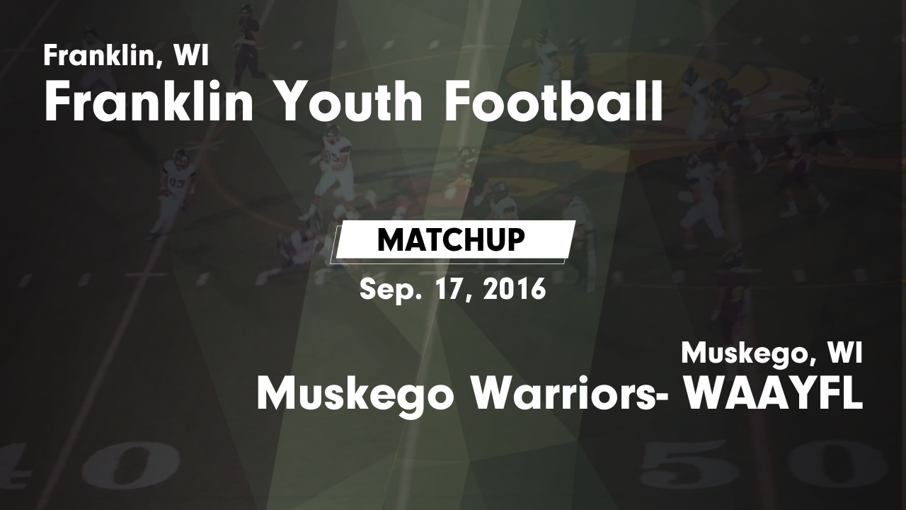 Muskego Warriors Youth Football