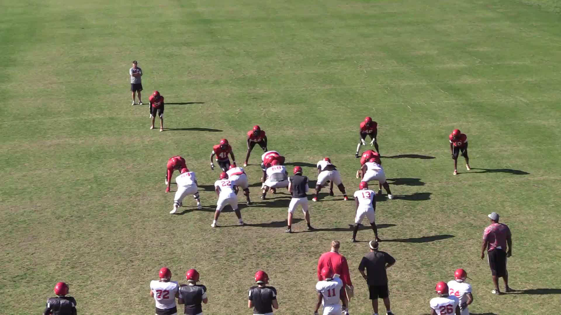 '21 Spring Practice Offense