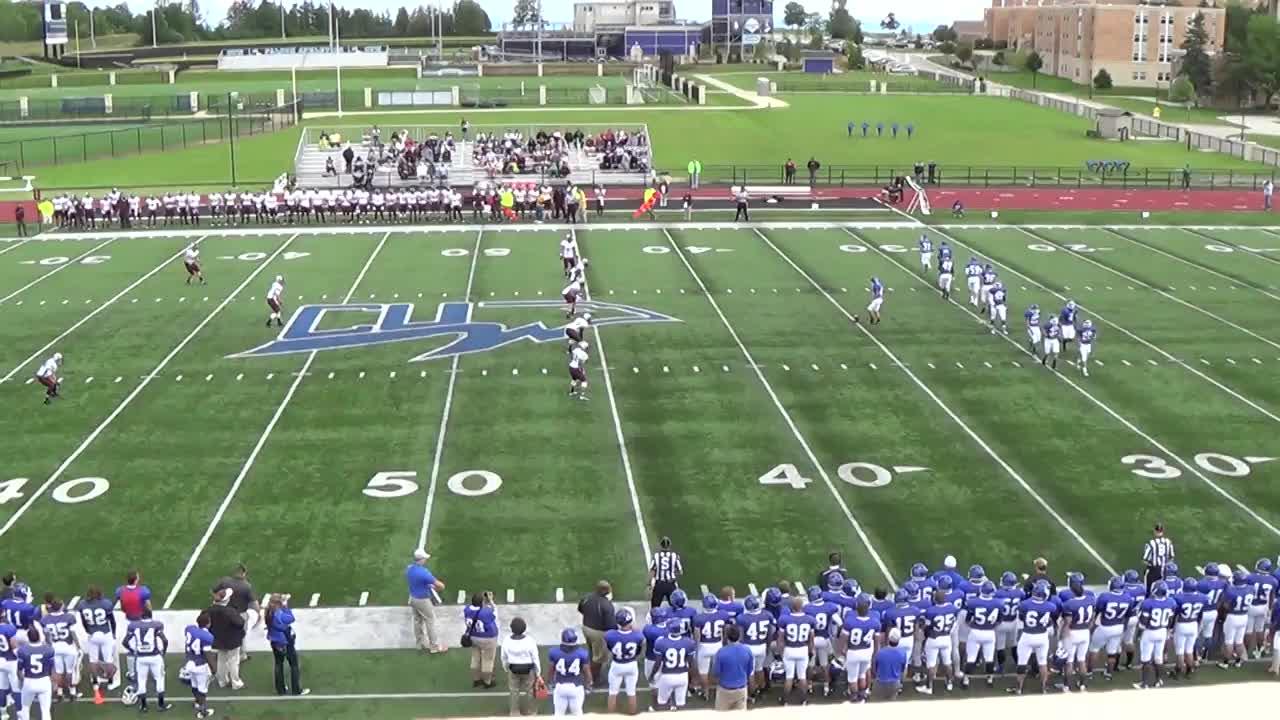 Mens Varsity Football - Concordia