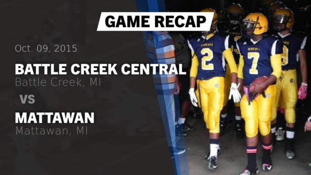 battle creek central football