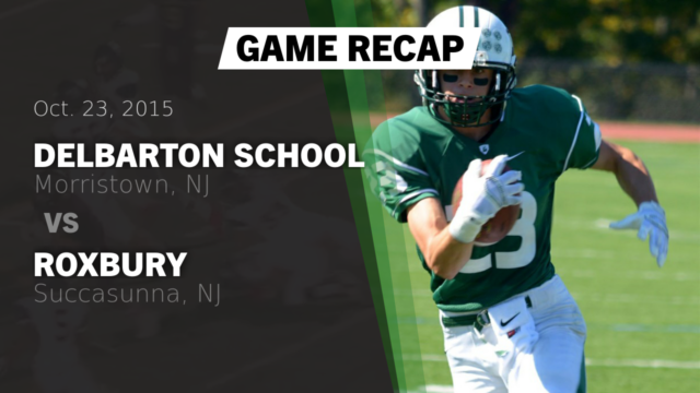 Varsity Football Delbarton School Morristown New Jersey